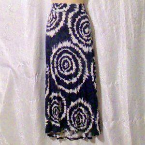 INC Int'l Concepts Knit Tie Dye Studded Maxi Skirt